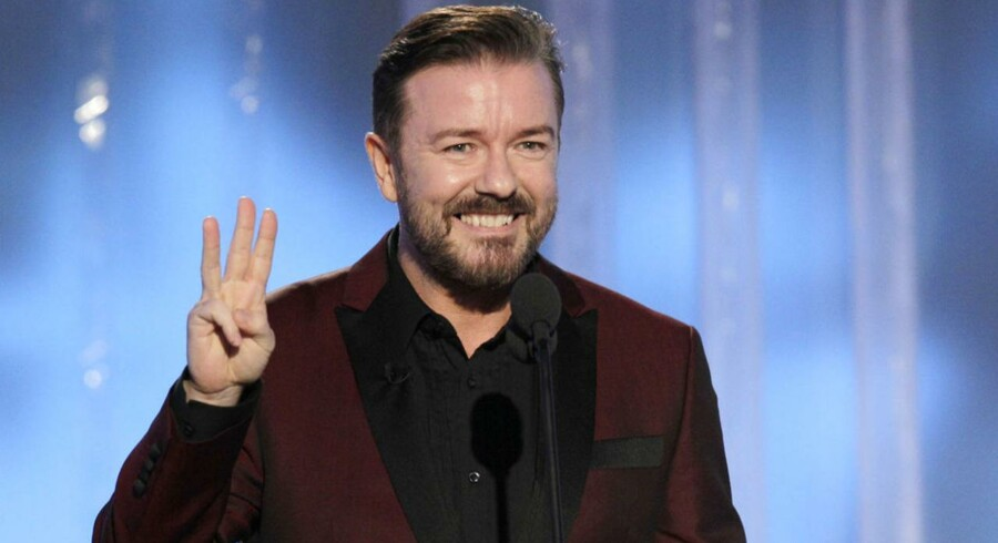 Ricky Gervais har været en kontroversiel vært for Golden Globe-prisuddelingen de seneste tre år. Det er nu slut.