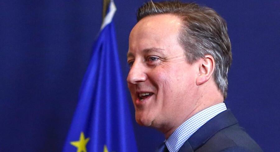 Den britiske premierminister David Cameron er under pres for at få en reformpakke godkendt af de øvrige EU-lande. Det er afgørende for, om han vil anbefale briterne at stemme ja til fortsat medlemskab af EU. Foto: Yves Herman/Reuters