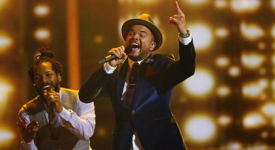 Sangeren Guy Sebastian repræsenterede Australien ved dette års Eurovision Song Contest i Wien. Foto: Leonhard Foeger