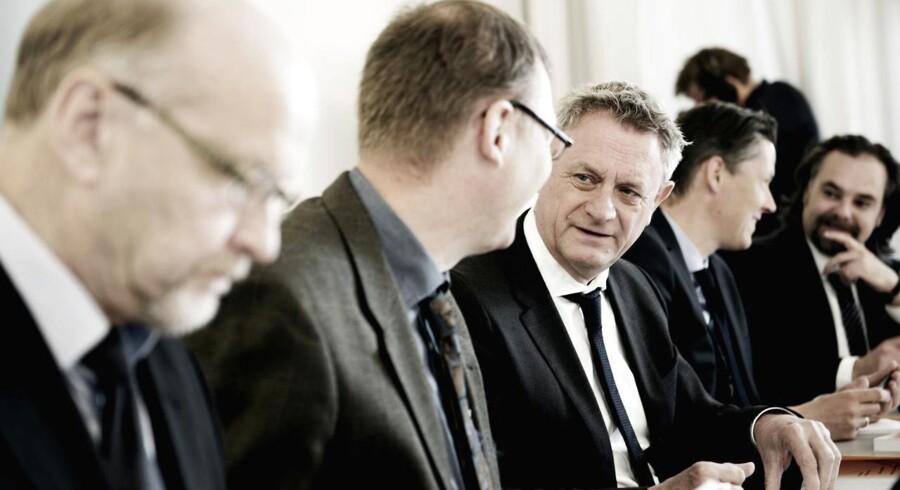 Hans Jørgen Whitta-Jacobsen (nr. 3 fra venstre) er formand for Det Økonomiske Råds formandskab.