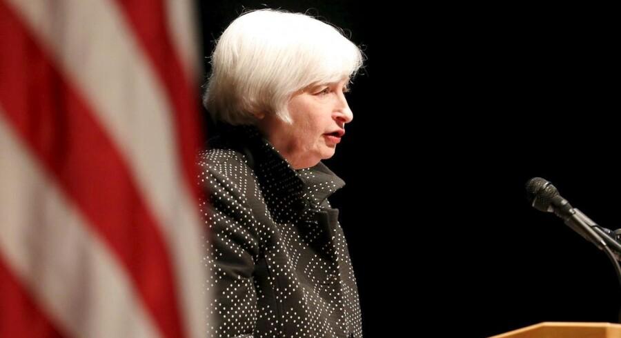 »Der er ikke forventninger om ændringer af den amerikanske pengepolitik på onsdagens rentemøde, der kommer ingen nye prognoser fra det møde og mødet bliver ikke efterfulgt af et pressemøde af Fed-chef Janet Yellen,« påpeger Nordeas valutastrateg Niels Christensen.