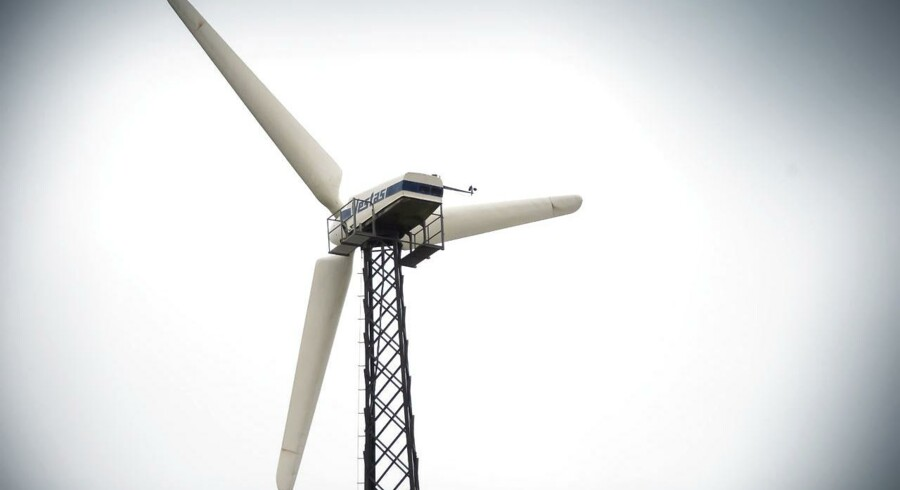 Vestas vindmølle. ARKIVFOTO.