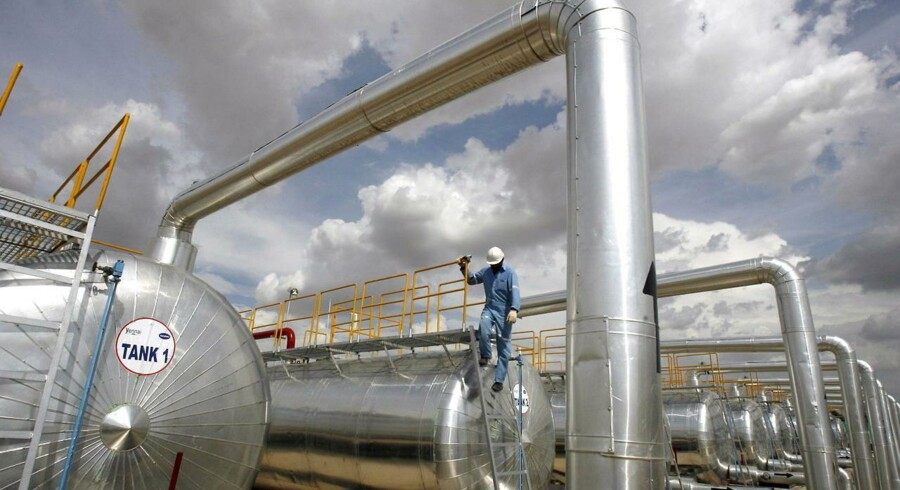 Verdens olielagre bugner