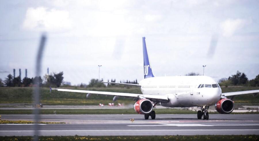Flyet skulle til København fra lufthaven Landvetter ved Göteborg, siger pressechef i SAS.