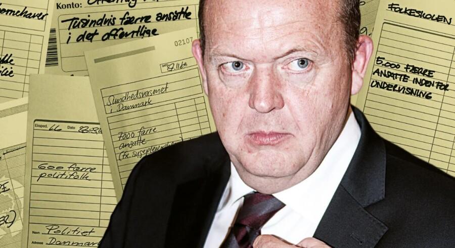 Screendump fra Socialdemokraternes valgkampagne mod Lars Løkke Rasmussen (V).