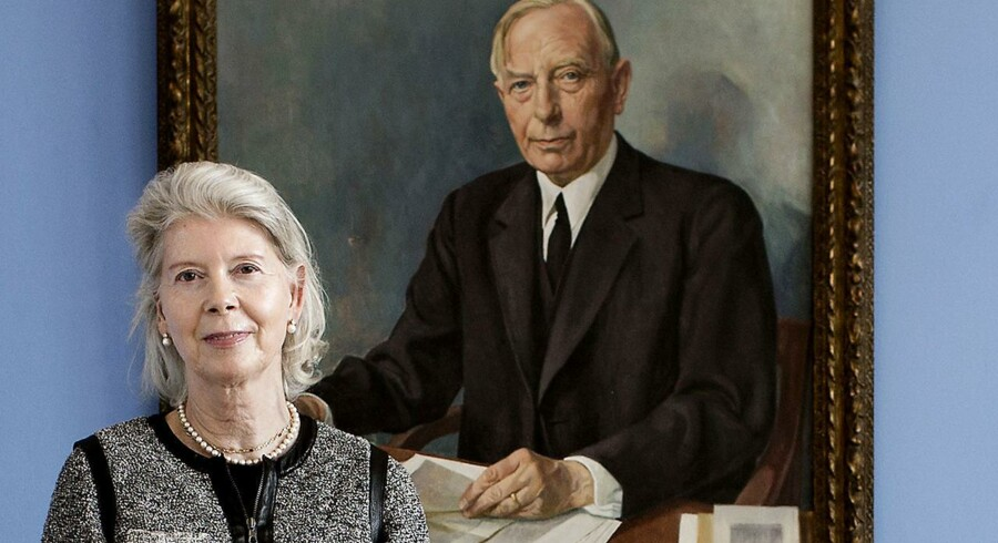 Ane Mærsk Mc-Kinney Uggla, formand for A.P. Møller og Hustru Chastine Mc-Kinney Møllers Fond.