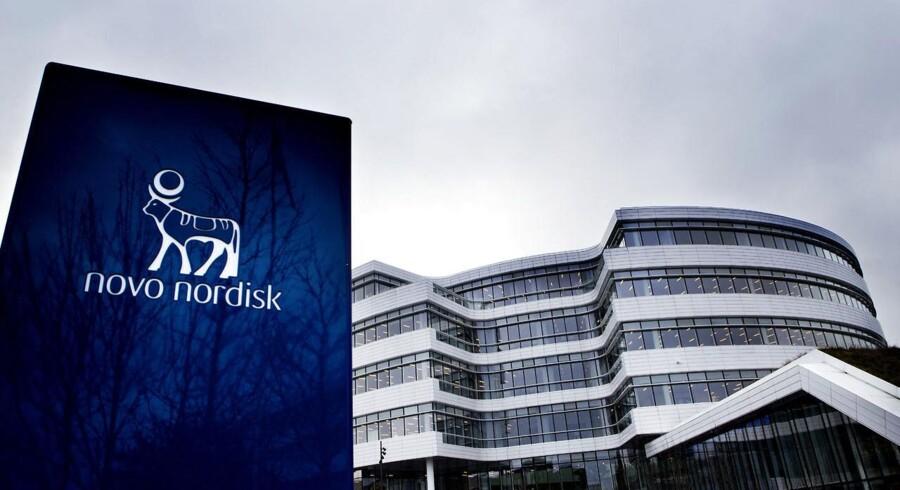 Novo Nordisk offentliggjorde positive overordnede resultater fra det første fase 3-studie med den kommende langtidsvirkende GLP-1-analog, Semaglutid og aktien steg i USA.