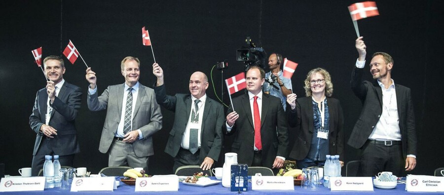 Dansk Folkepartis 20. årsmøde 2015 forgår i Boxen i Herning.