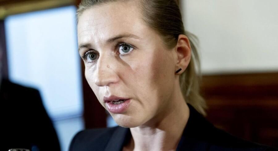 Justitsminister Mette Frederiksen (S).