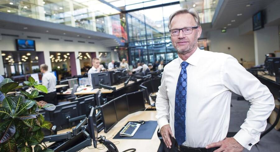 Jyske Banks direktør Anders Dam strammer gebyrskruen. Arkivfoto.