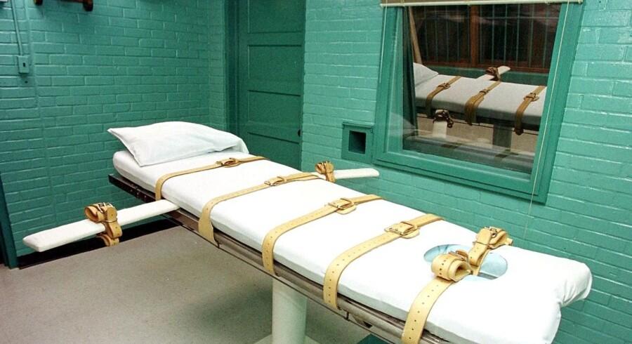 Det er i et dødskammer som dette i Texas, at amerikanske fængsler henretter dødsdømte med blandt andet et stof fra Lundbeck.