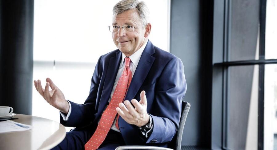 Christian Clausens grundløn faldt i 2014, til gengæld fik Nordea-direktøren en stor bonus.