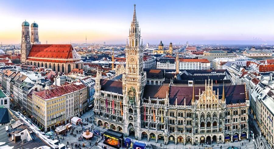 Sydtysklands største by, München, har gennem ti år skiftet styresystem og programmer på de ansattes PCer ud fra Windows til Linux. Nu vil nogle politikere skifte tilbage. Arkivfoto: Iris/Scanpix