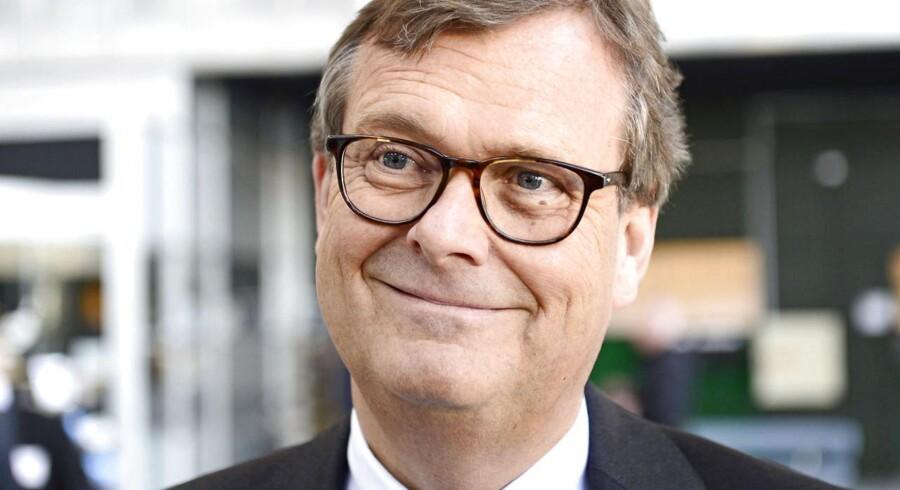 """Det var et """"godt og tilfredsstillende"""" resultat, A.P. Møller - Mærsk leverede i 2013, hvor der var et samlet overskud på 3,8 mia. dollar. Sådan sammenfatter bestyrelsesformand Michael Pram Rasmussen året over for de næsten 2000 aktionærer, der er mødt op til koncernens generalforsamling mandag i Bella Center i København."""