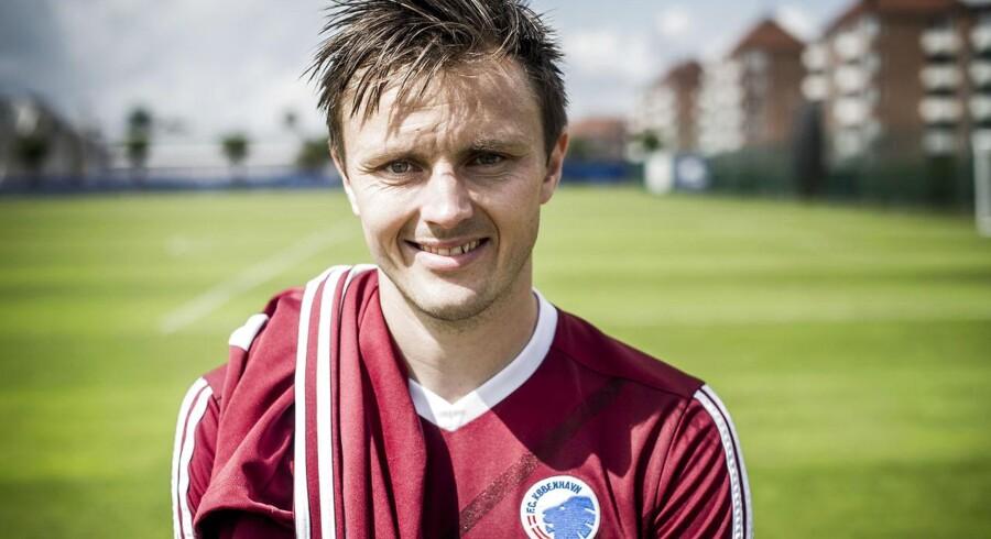William Kvist er ikke med i startopstillingen i FC Københavns kamp mod Lokomotiv Moskva i Europa League.