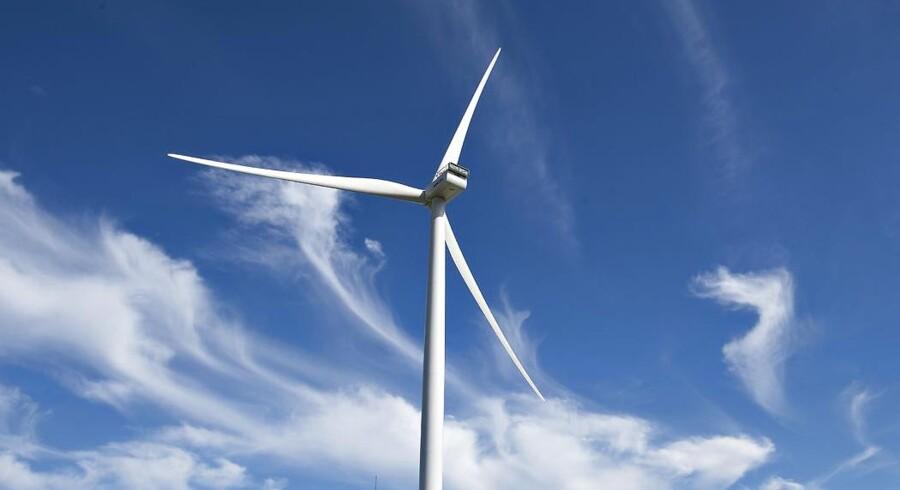 Arkivfoto: Vestas vindmølle.