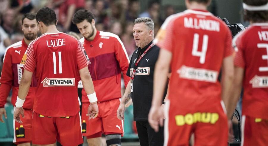 Efter at have været topseedet i de to seneste EM-slutrunder er Danmark røget et lag ned før EM næste år.