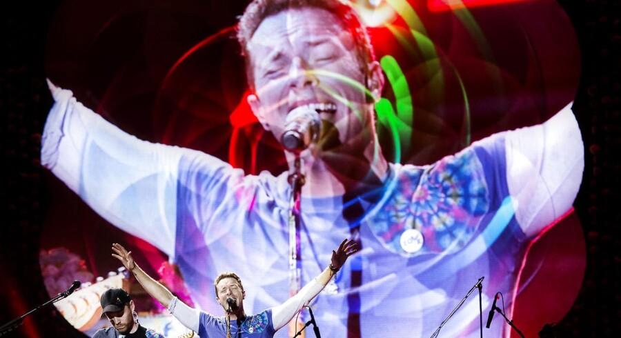 På de sociale medier er folk i ekstase over Coldplays koncert, som de spillede i Parken i København tirsdag d. 5. juli 2016.