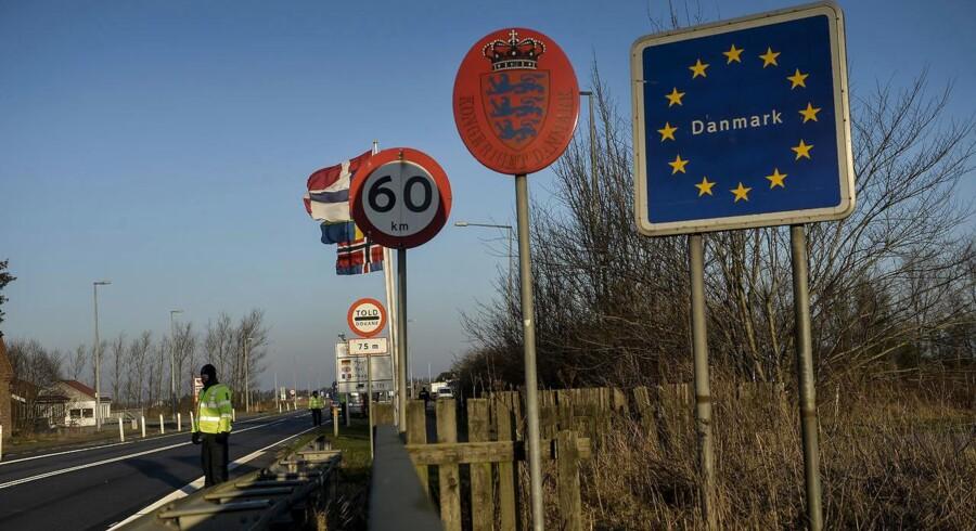 EU-Kommissionen sagde tirsdag god for den danske grænsekontrol i sin indledende vurdering. Her er vi ved Sæd grænseovergang på dag to af den midlertidige grænsekontrol, som foregår i form af stikprøver ved den dansk/tyske grænse.