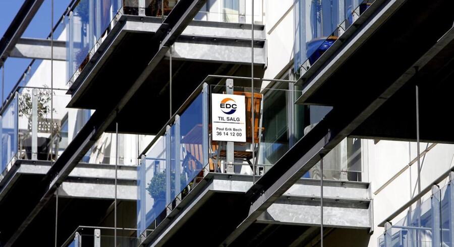 Lejlighedskompleks på Teglholmen i Københavns Sydhavn.