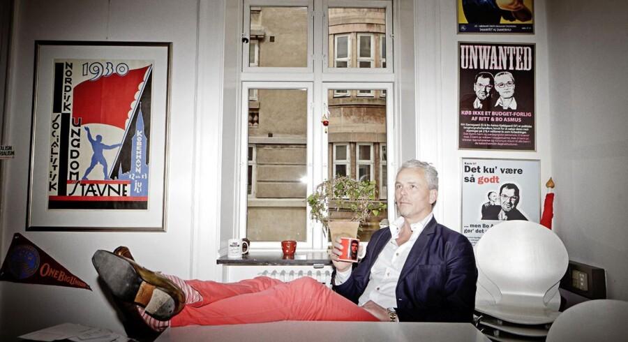 Jan Hoby, næstformand i den københavnske forening for pædagoger LFS.