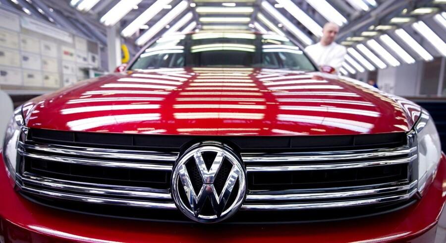 Arkivfoto: Nypoleret Volkswagen.