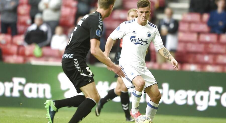 FC Københavns forsvarende pokalvindere skal møde Skive, mens Brøndby tørner sammen med Ledøje-Smørum.