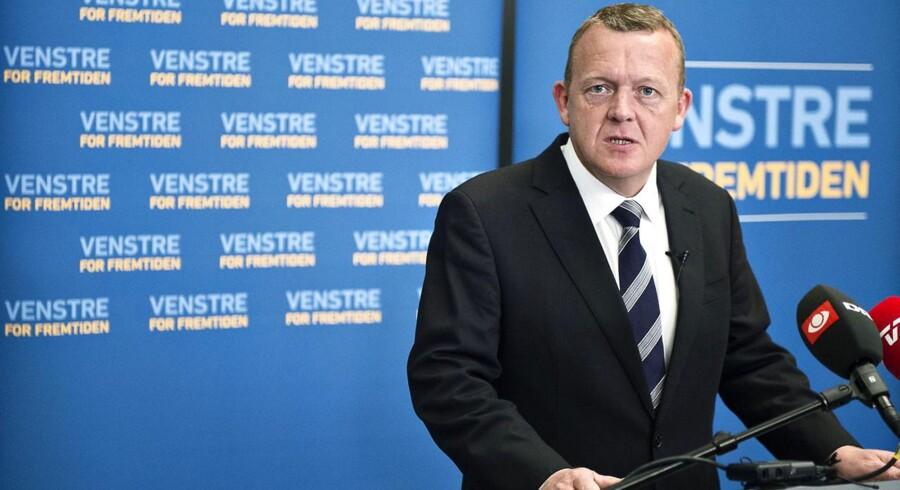 Lars Løkke Rasmussen, Venstres formand