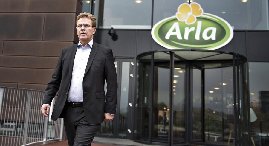 Adm. direktør Peder Tuborgh, Arla.