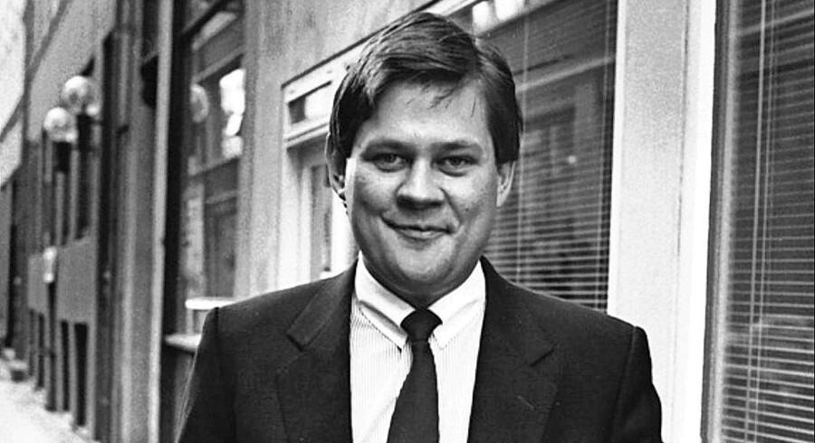 Før nedturen. Bjørn Stiedl fotograferet i 1994 – fem år før han modtog en dom på syv års fængsel for skyldnersvig. Foto: Mogens Ladegaard