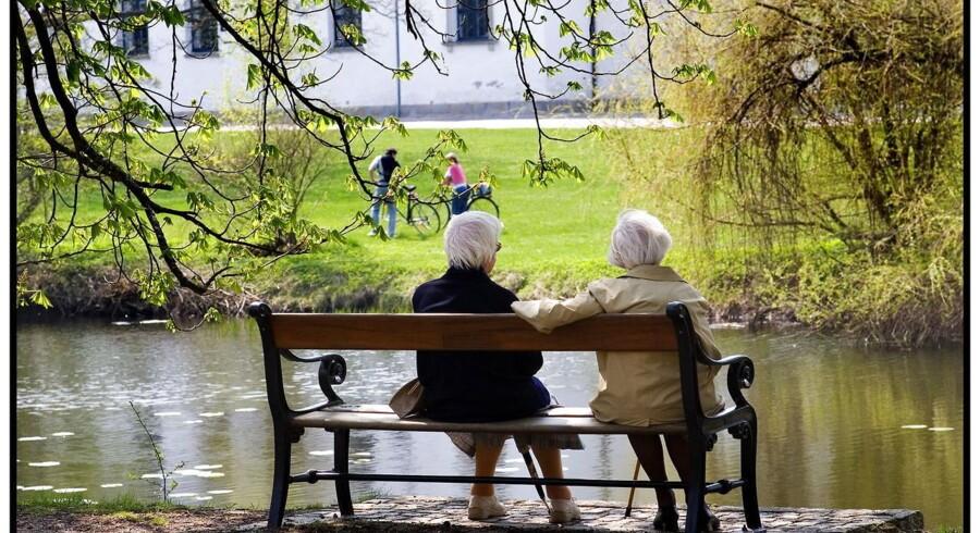 AP og SEB Pensions kunder får mindst i pension.