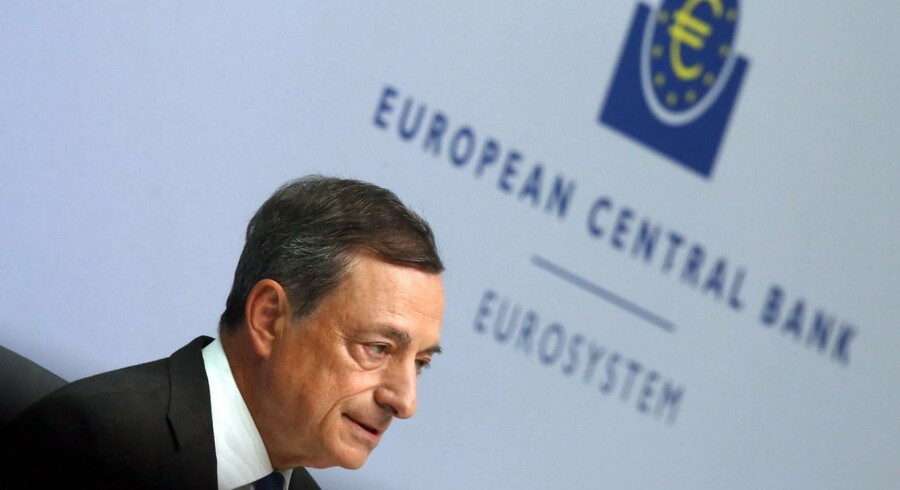 Præsident for ECB, Mario Draghi.
