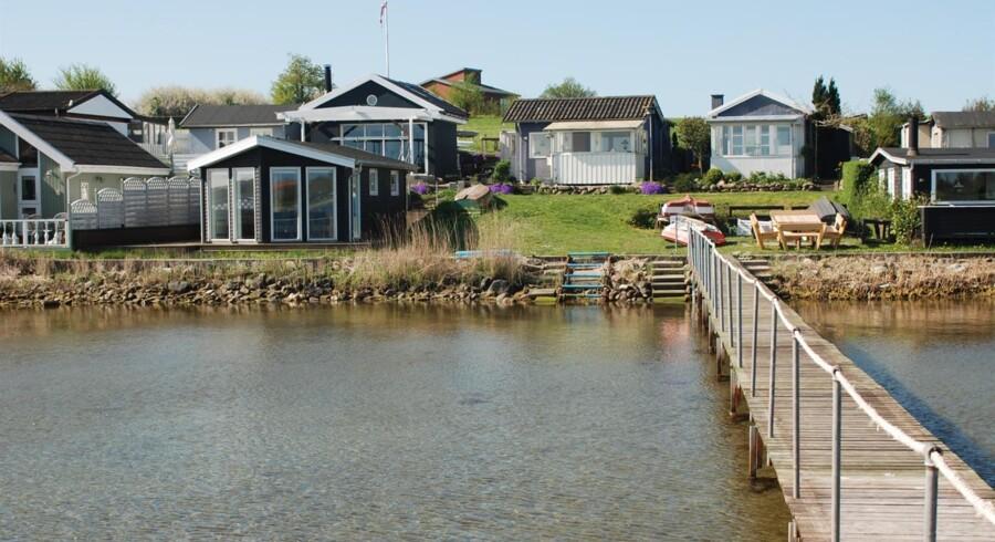 Sommerhus i Munkebo. Foto: Boliga Selvsalg