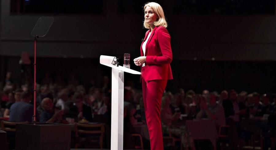 Helle Thorning-Schmidt på Socialdemokraternes kongres sidste år.