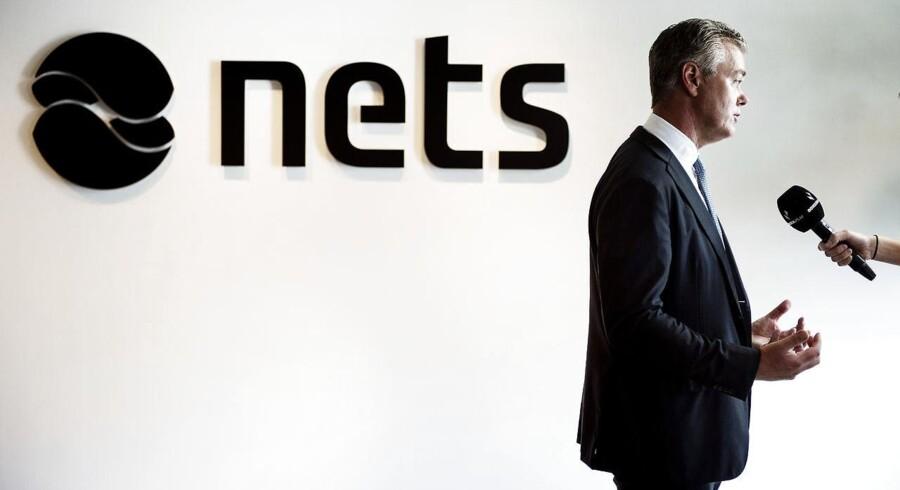 Nets indsnævrer nu spændet til en kurs mellem 145 og 160 kr. Arkivfoto: Pressemøde med Bo Nilsson.
