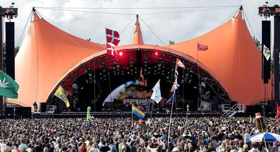 Onsdag var første musikdag på Roskilde Festival og Orange Scene blev åbnet med et brag.