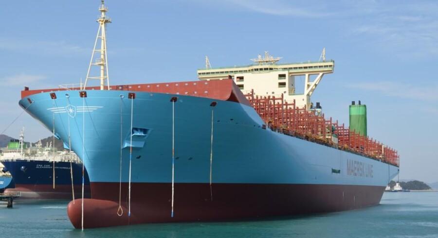 Beboere i Hellerup skal dog nok ikke regne med at skibet, der opkaldes efterMærsk Mc-Kinney Møller, lægger til kaj i havnen.