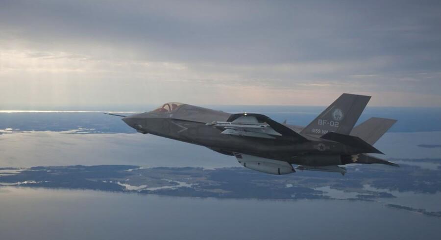 Den amerikanske F35 Joint Strike Fighter har ifølge svenskerne allerede løbet med den danske ordre