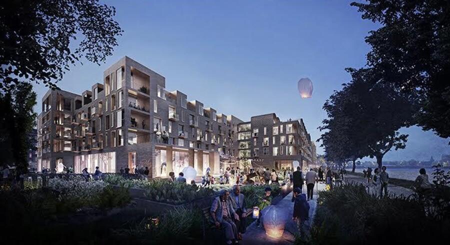 Det nye byggeri vil samlet bestå af 37.895 etagekvadratmeter og har en samlet anlægspris på omkring 1,1 mia. kroner.