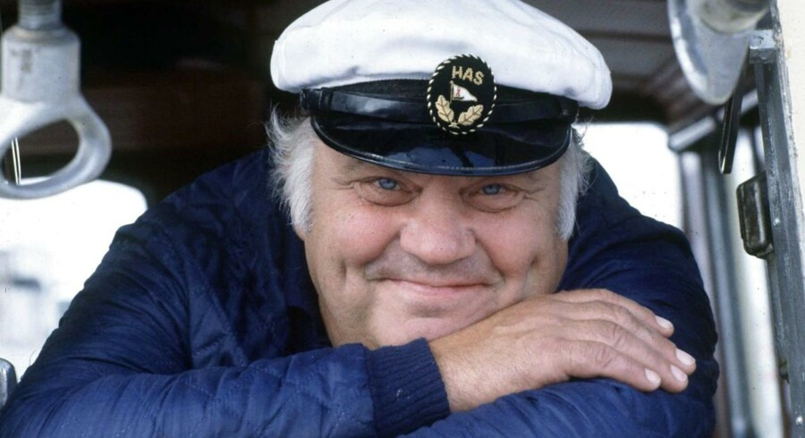 Skuespilleren Ove Verner Hansen er død, 85 år.Arkivfoto