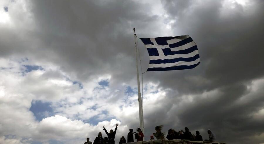 Grækenland frygter at løbe tør for penge inden tilbagebetalingen af lån for 747 mio. euro i maj.
