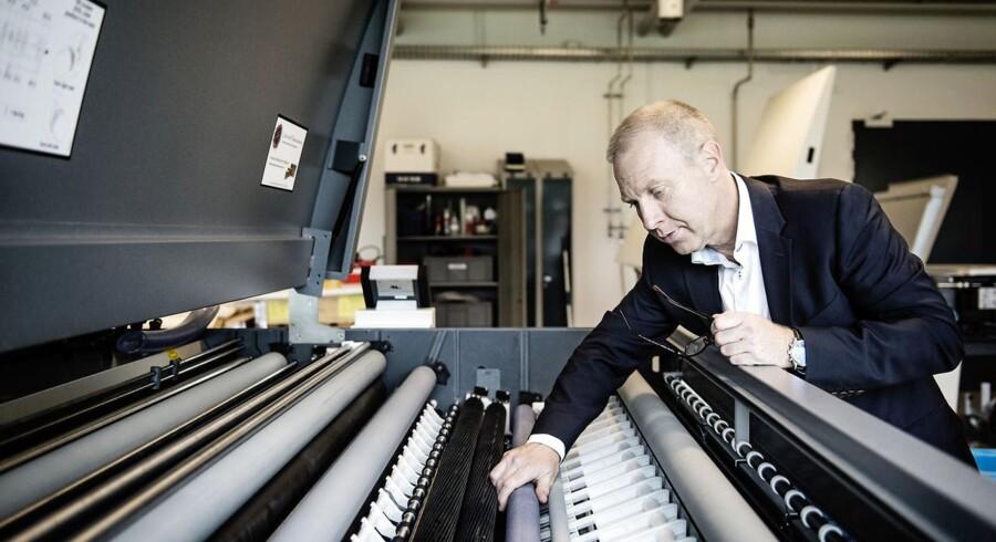 Glunz & Jensen, leverer udstyr til emballageindustrien og den grafiske industri. Keld Thorsen er CEO.