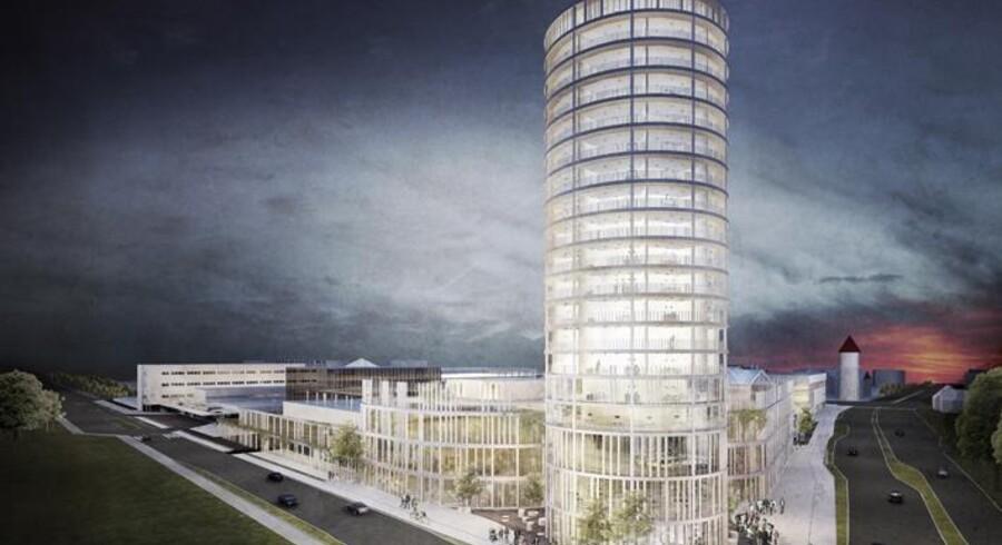 Årstiderne Arkitekter har vundet en konkurrence om visioner for fremtidens Rødovre Centrum.