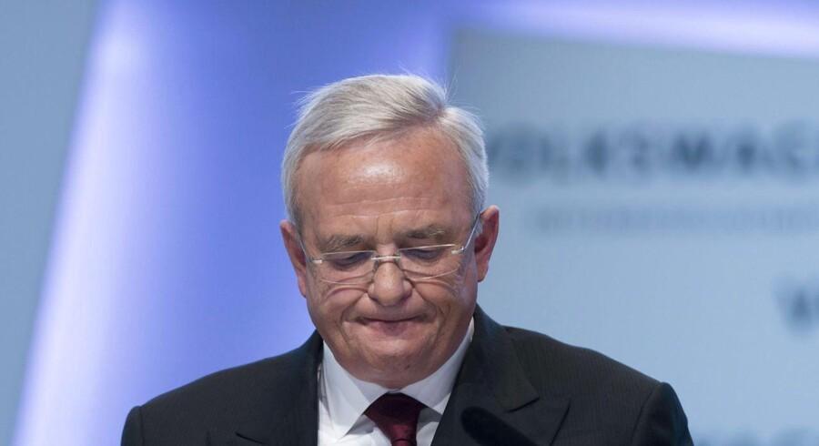Tidligere Volkswagens topchef, Martin Winterkorn.