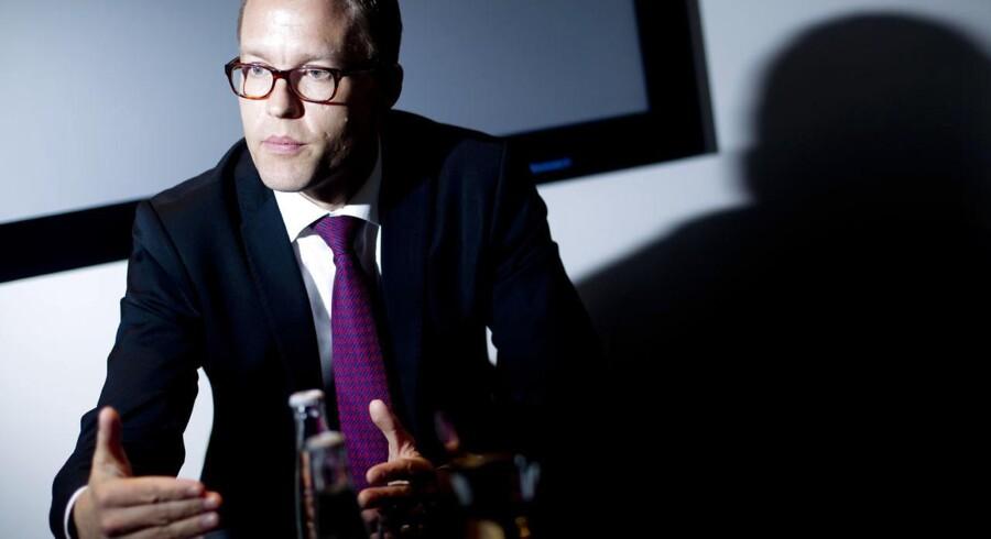 Jakob Riis, direktør for global marketing i Novo Nordisk