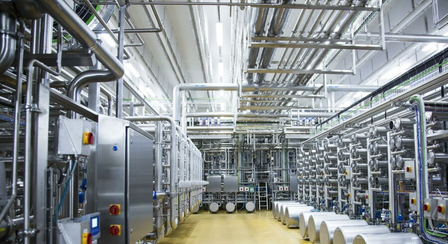 Arlas nye laktoseanlæg ved Nr. Virum ved Videbæk er blevet indviet i dag torsdag, og det giver Arlas datterselskab Arla Foods Ingredients mulighed for at skabe yderligere omsætning på omkring en halv milliard kroner om året.