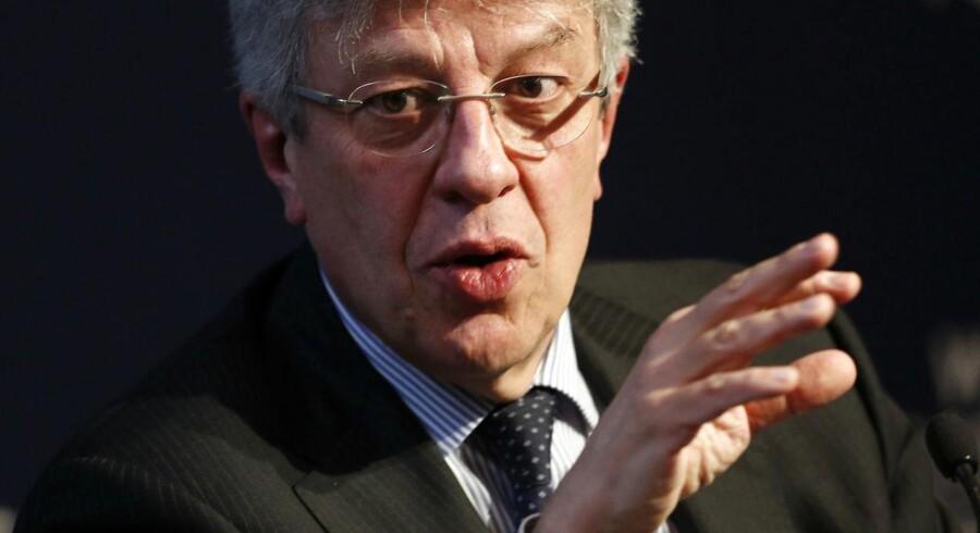 Swiss Re får fra og med juli ny topchef. Det bliver genforsikringsdivisionens chef, Christian Mumenthaler, der tager over efter Michel Lies, der går på pension. Arkivfoto.