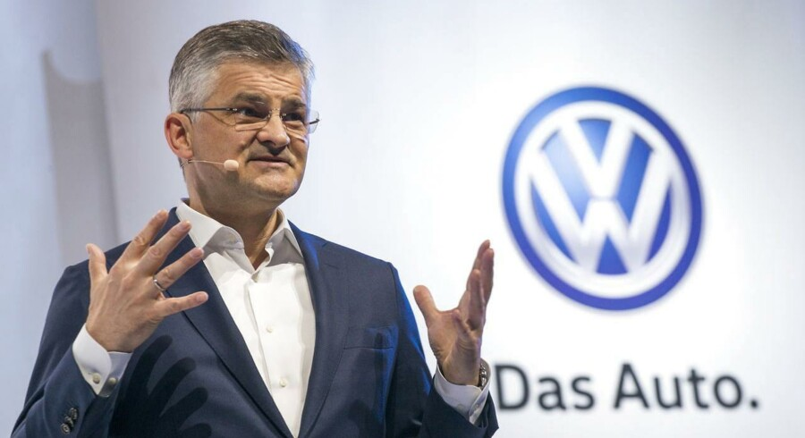 Volkswagens amerikanske direktør, Michael Horn, skal forklare sig for den amerikanske kongres. Han indrømmer at have kendt til svindel med dieselbiler. Arkivfoto.