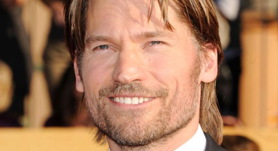 """Danske Nikolaj Coster-Waldau spiller hovedskurken i den Emmy-nominerede serie """"Game of Thrones""""."""