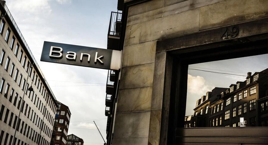 Danske Bank er en af de pengeinstitutter, som har haft fyringsrunde i 2014. Dansk Erhverv forventer flere fyrede i banksektoren i 2015. FOTO: Thomas Lekfeldt/Scanpix 2014)